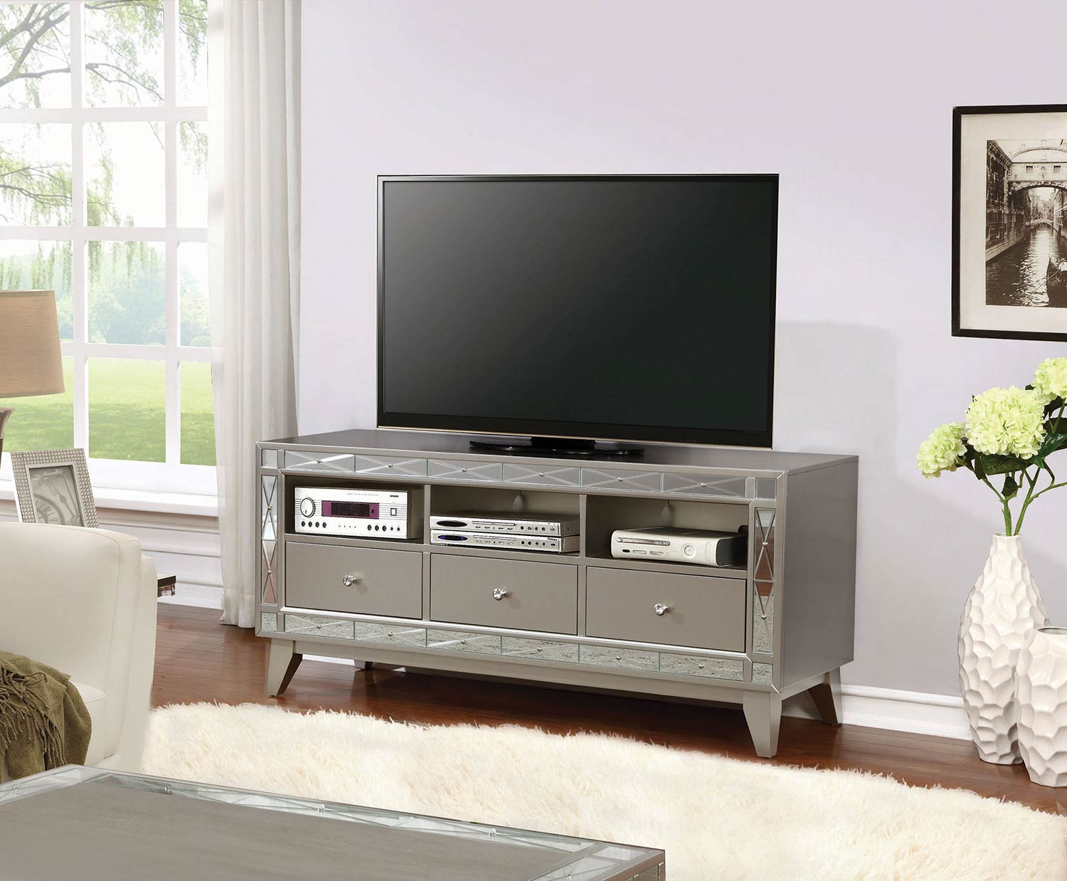 Coaster 701692 TV Console - Mercury