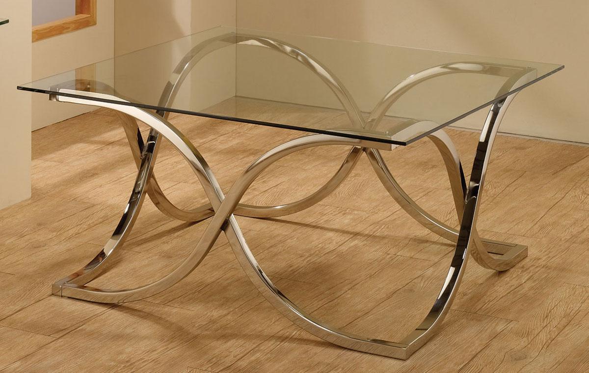Coaster 701918 Coffee Table - Chrome