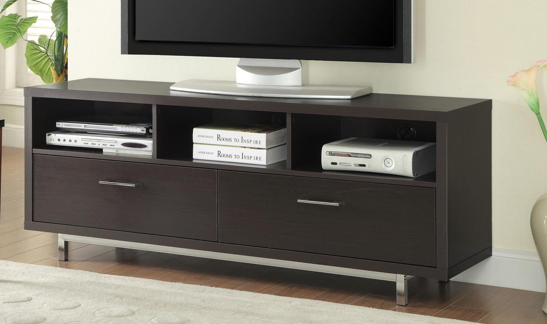 Coaster 701973 TV Console - Cappuccino
