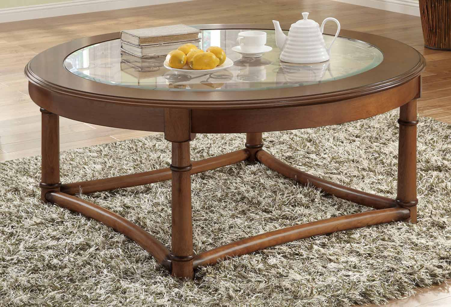 Coaster 702118 coffee table set cherry 702117 702118 Coaster coffee tables