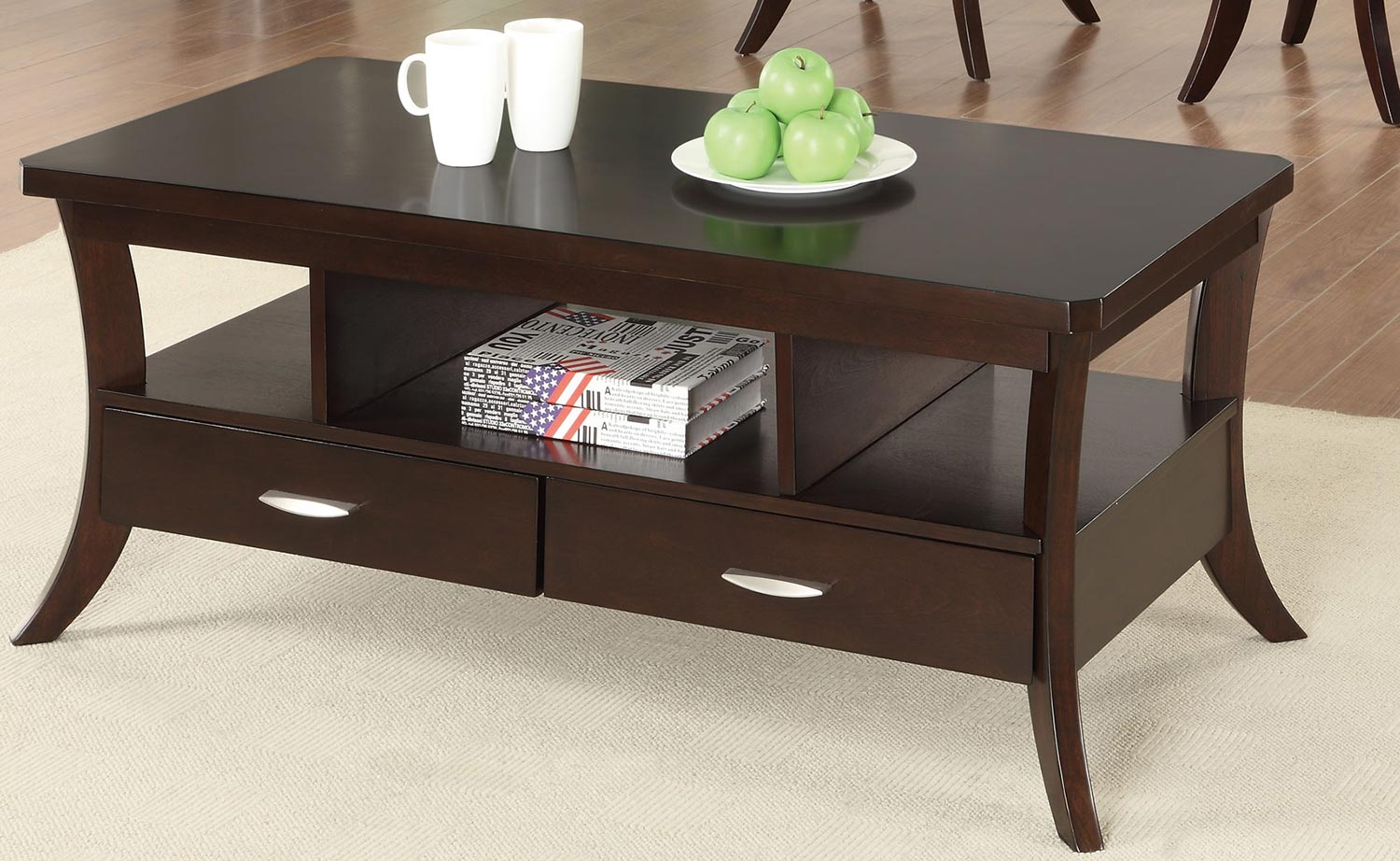 Coaster 702508 Coffee Table Espresso 702508 At