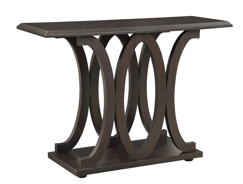 Coaster 703149 Sofa Table - Cappuccino
