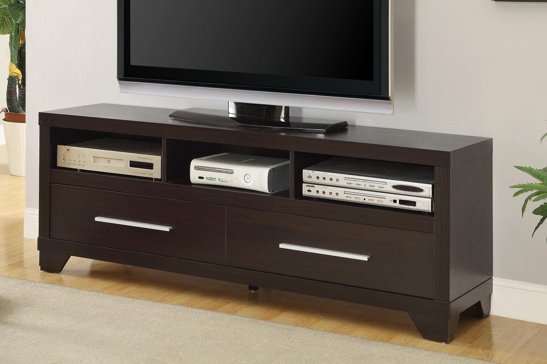 Coaster 703301 TV Stand - Cappuccino