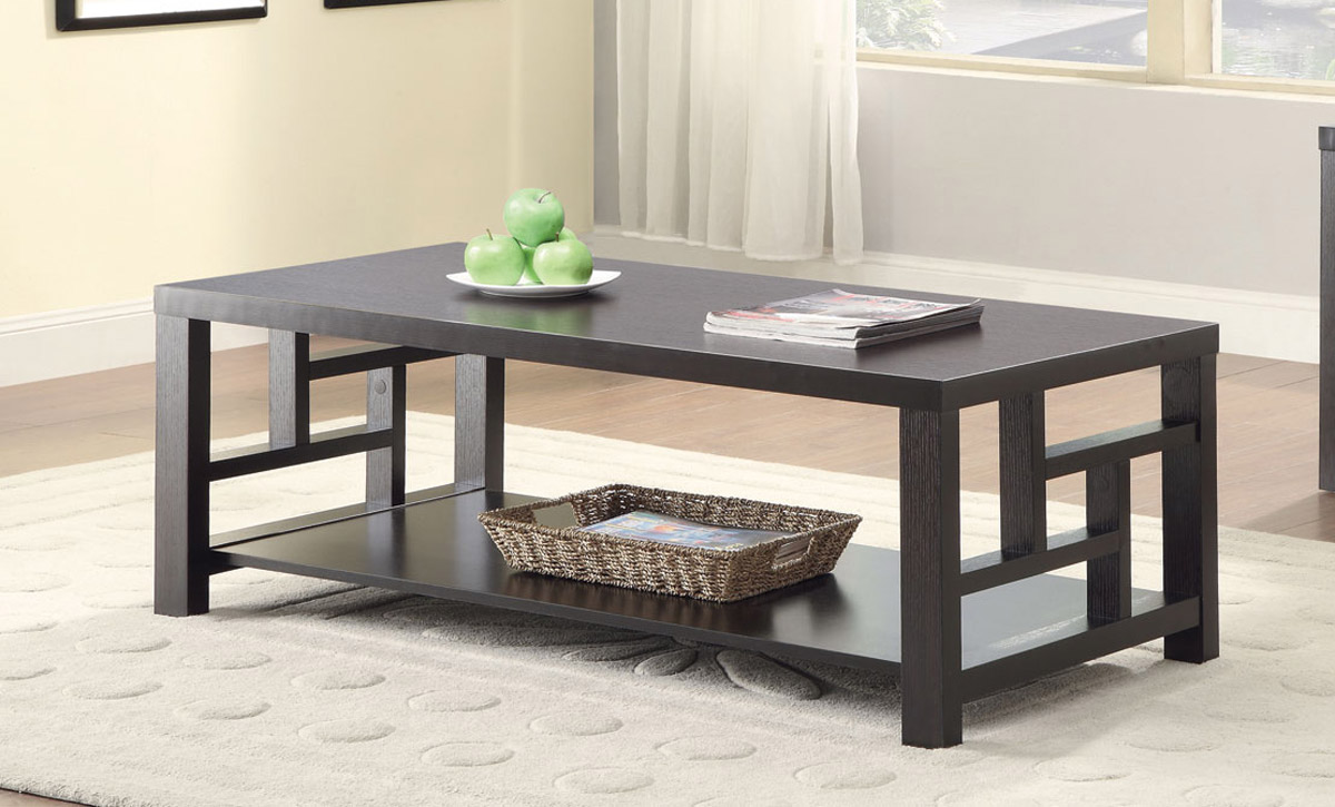 Coaster 703538 Coffee Table - Cappuccino
