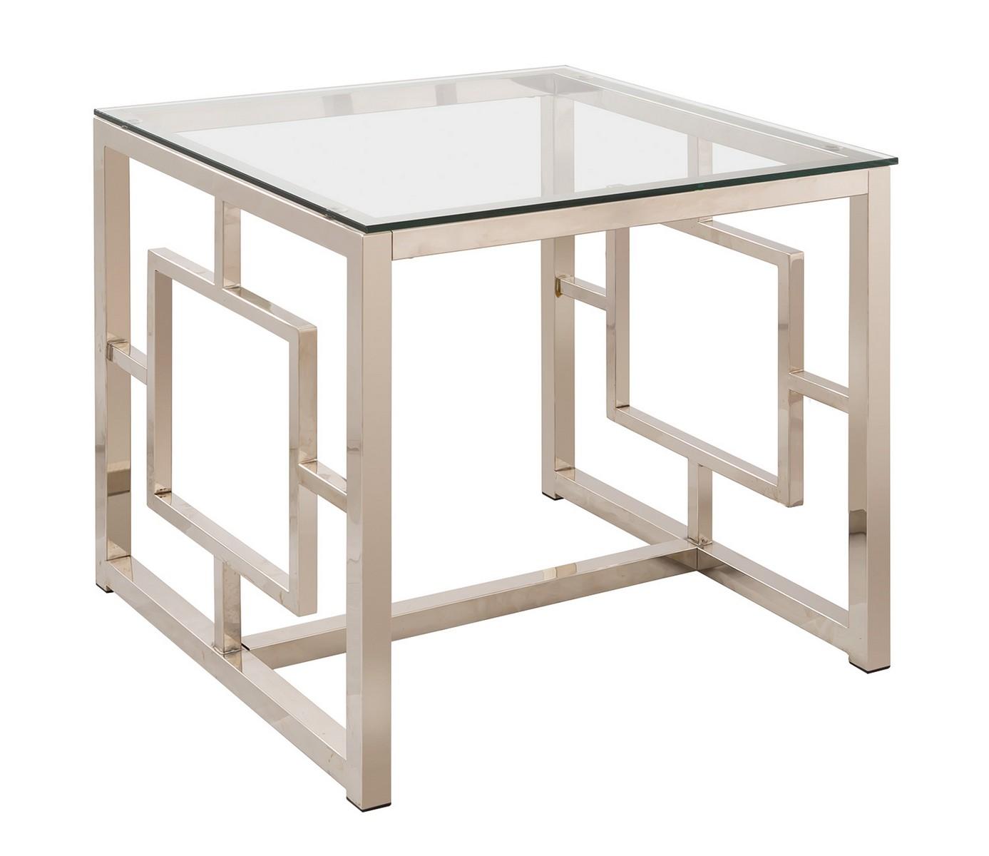 Coaster 703737 End Table - Nickel