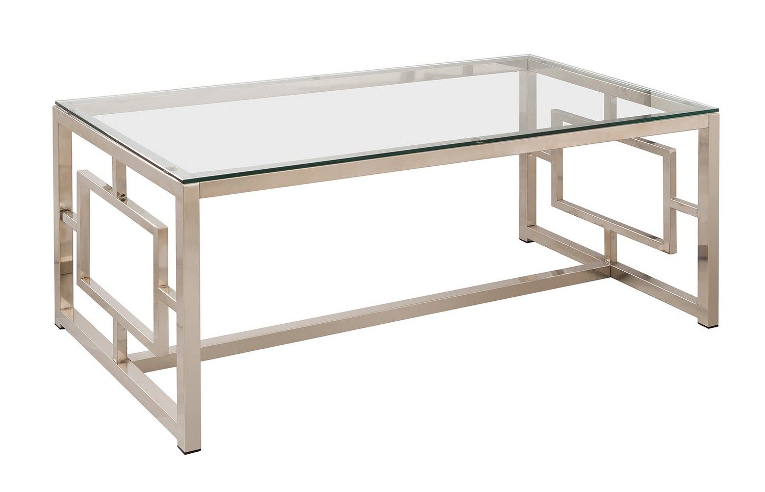 Coaster 703738 Coffee/Cocktail Table - Nickel