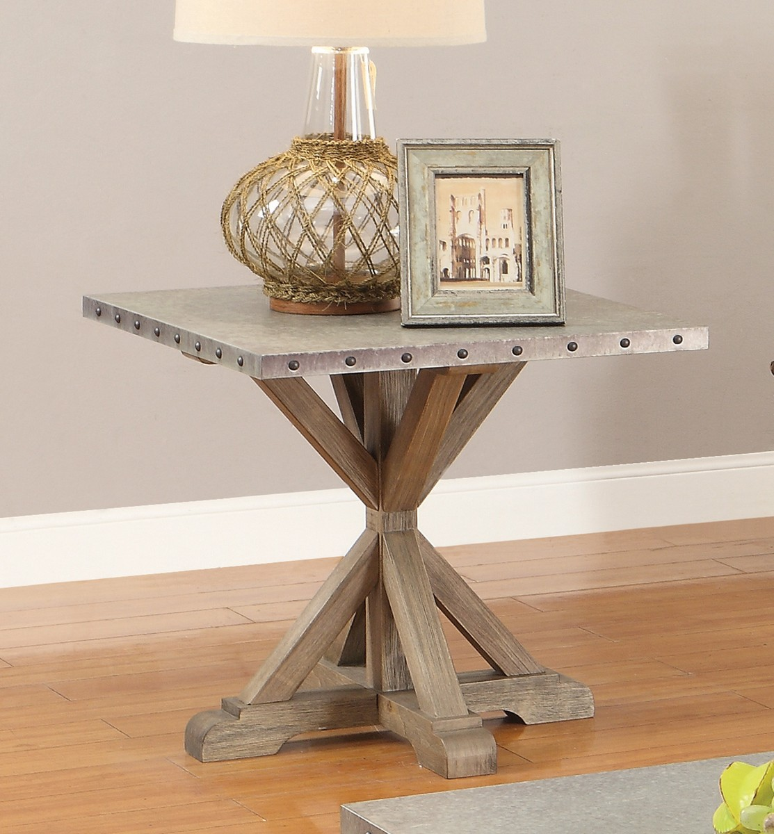 Coaster 703747 End Table - Driftwood