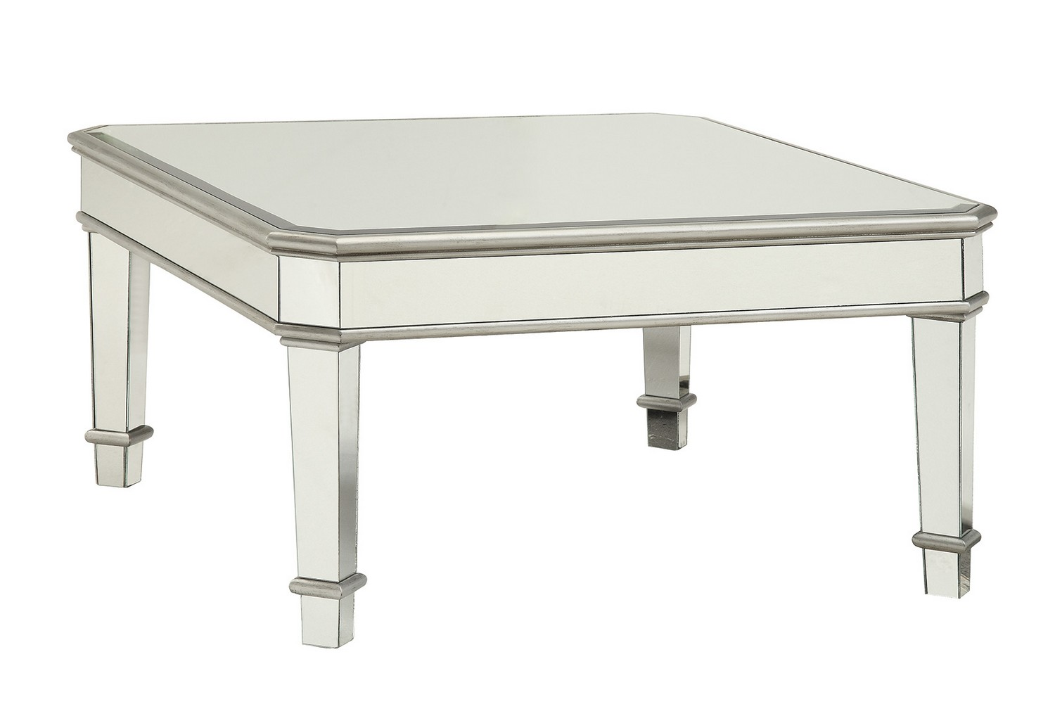 Coaster 703938 Coffee Cocktail Table Silver 703938 At