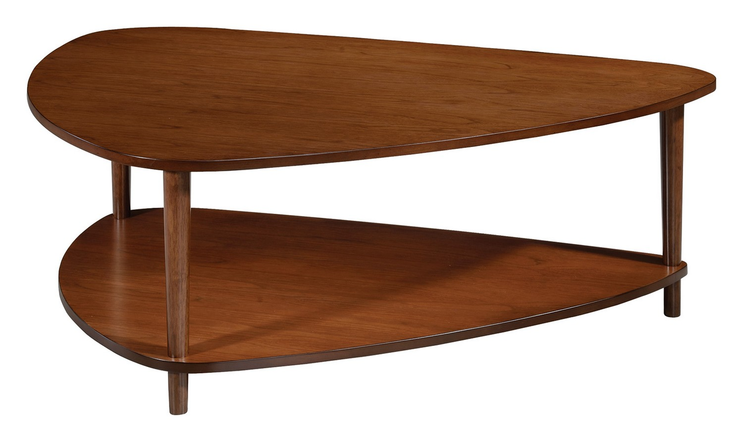 Coaster 704058 coffee cocktail table walnut 704058 at Coaster coffee tables