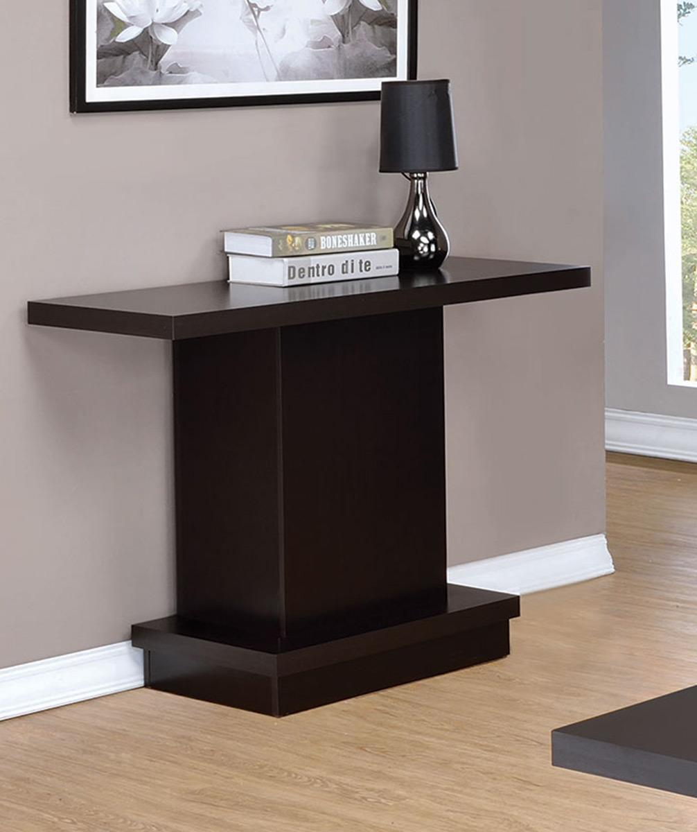 Coaster 705169 Sofa Table - Cappuccino