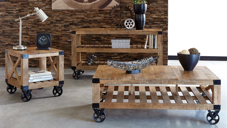 Coaster Wylder Coffee Table Set - Linen