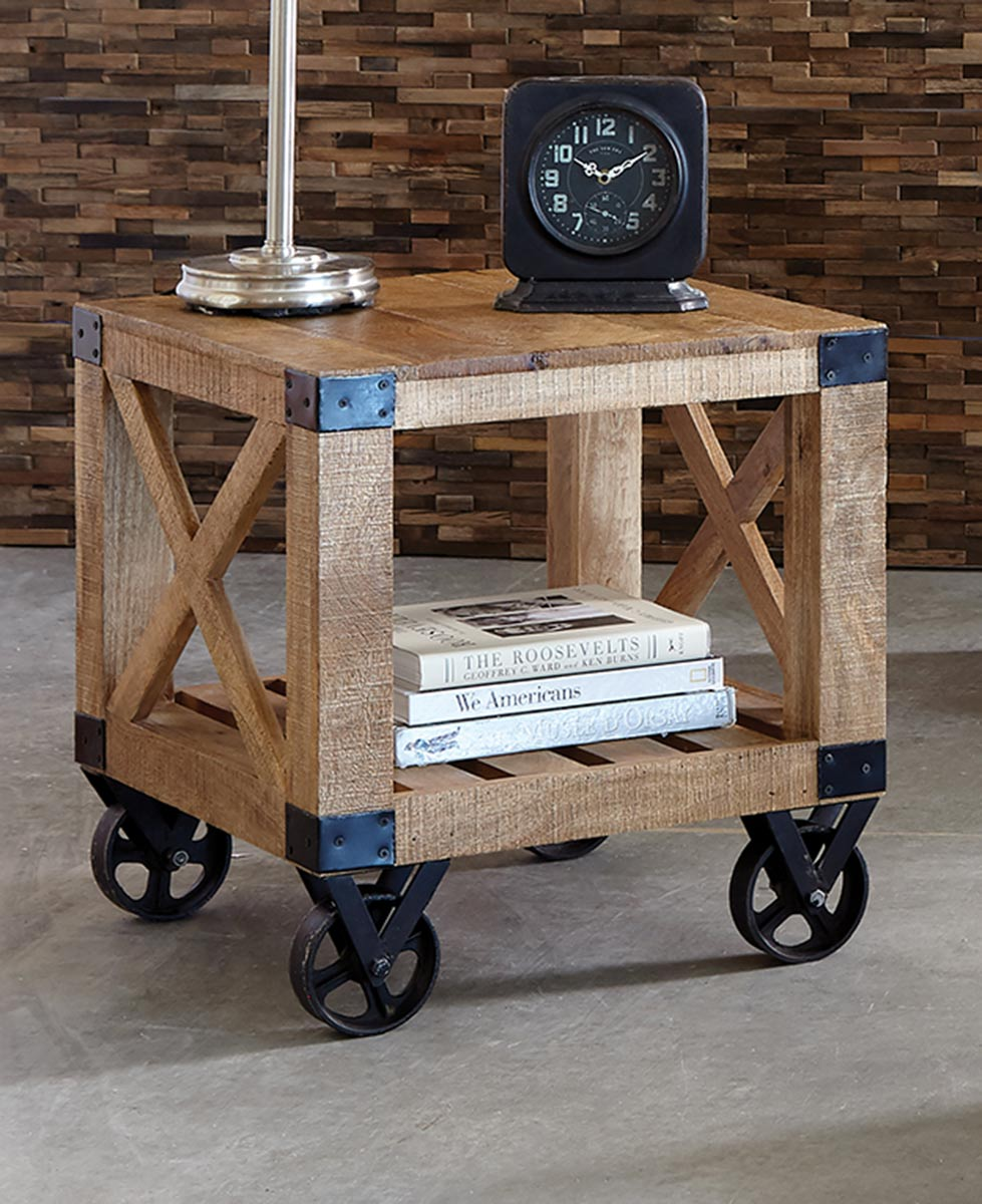 Coaster Wylder End Table - Linen