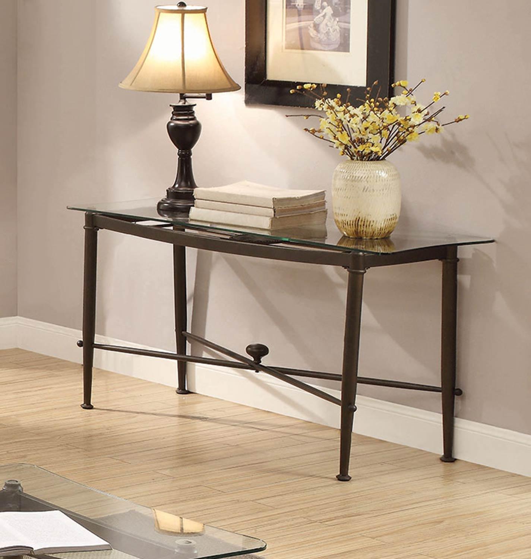 Coaster 720479 Sofa Table Antique Bronze 720479 At