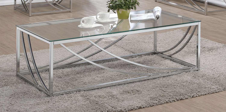 Coaster 720499 Sofa Table - Chrome