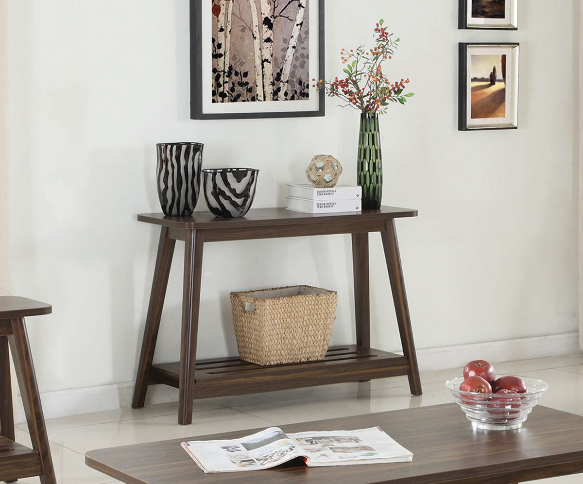 Coaster 720559 sofa table chestnut 720559 at for 42 sofa table