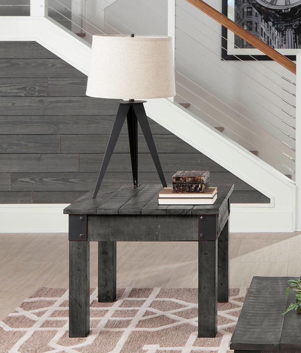 Coaster 720577 End Table - Rustic Grey