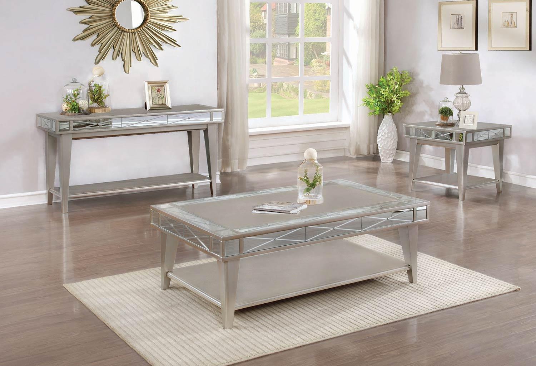 Coaster 720888 Occasional/Coffee Table Set - Mercury 720888-COFFEE ...