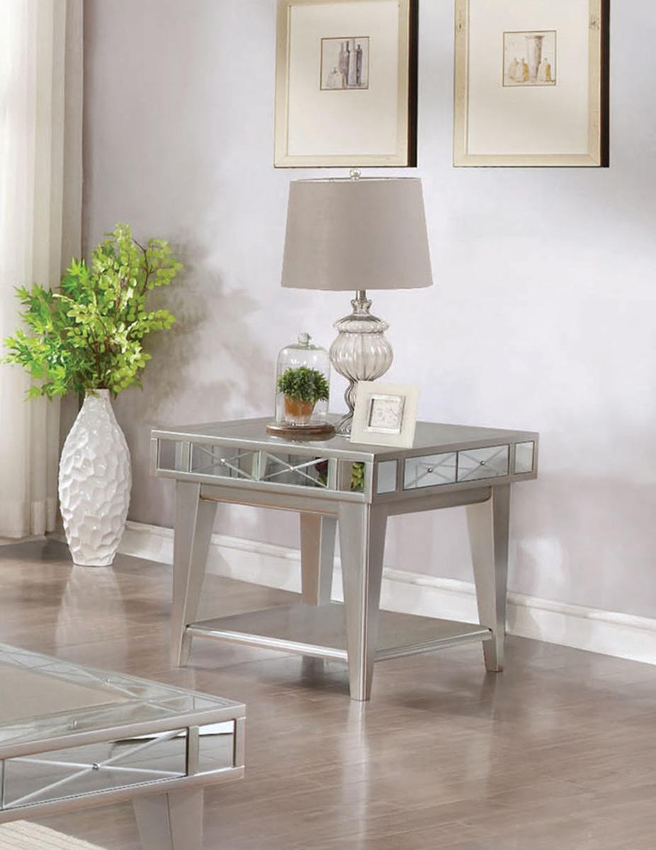 Coaster 720887 End Table - Mercury