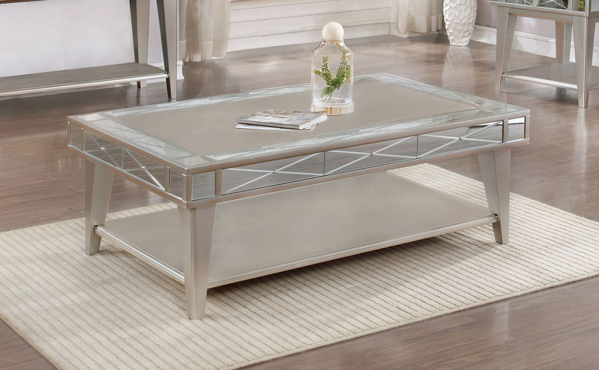 Coaster 720888 Coffee Table - Mercury