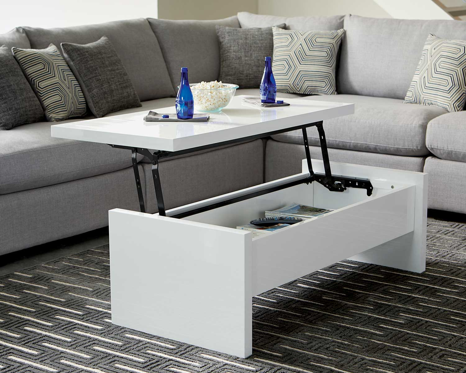 Coaster Charlotte Coffee Table - White