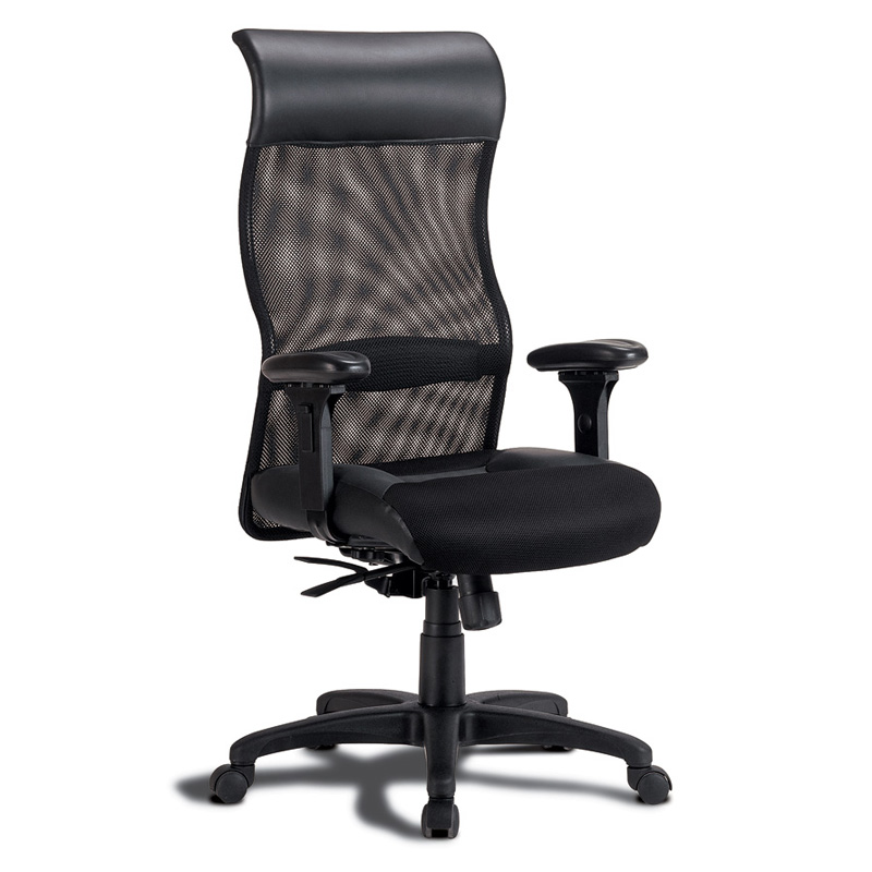 full adjustment office chair in a mesh fabric chair with extreme