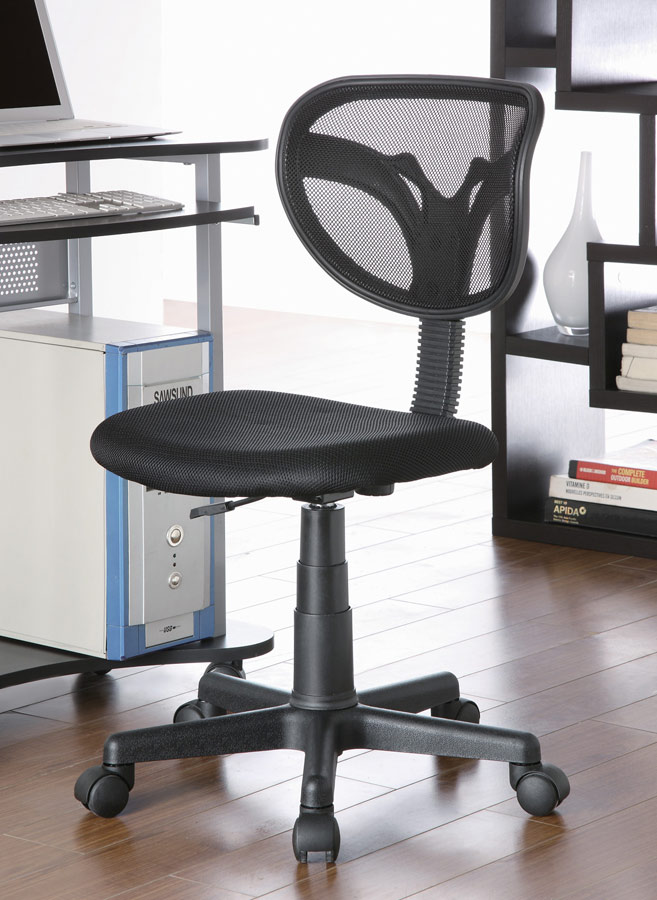 coaster 800055x office chair black 800055k at