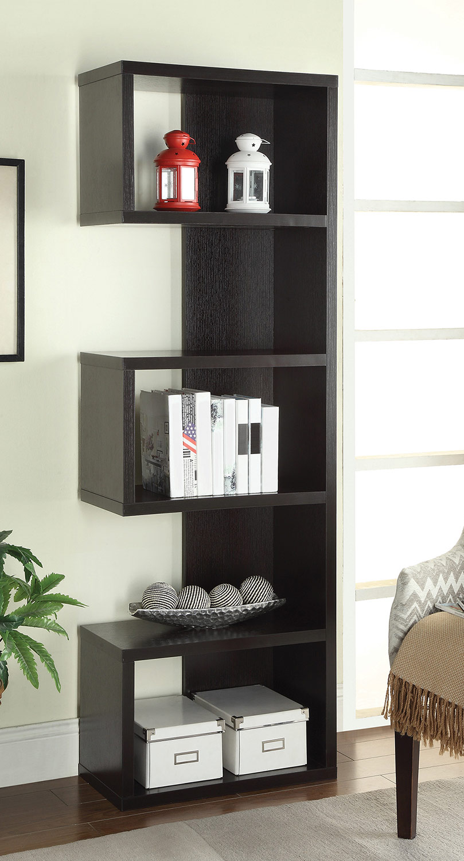 Coaster 800069 Bookcase - Cappuccino