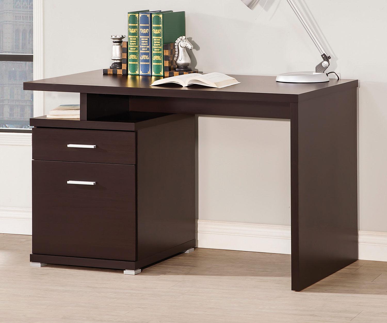 Coaster 800109 Desk - Capuuccino