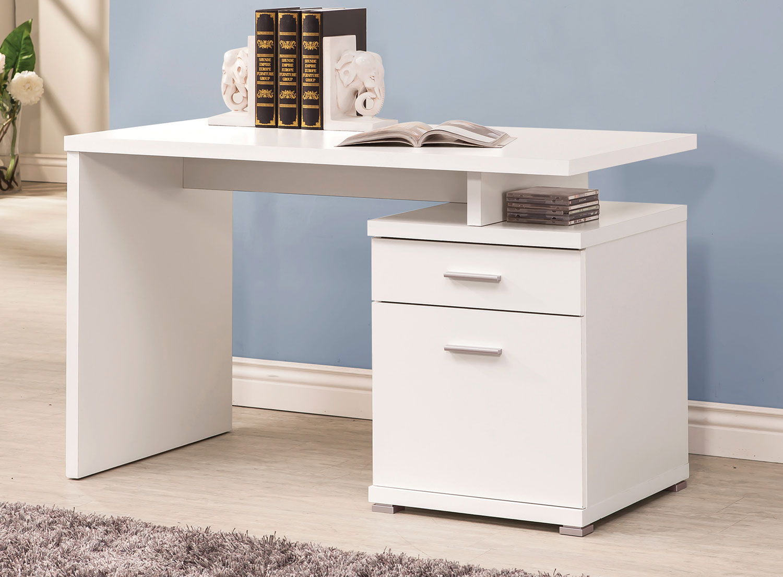 Coaster 800110 Desk - White