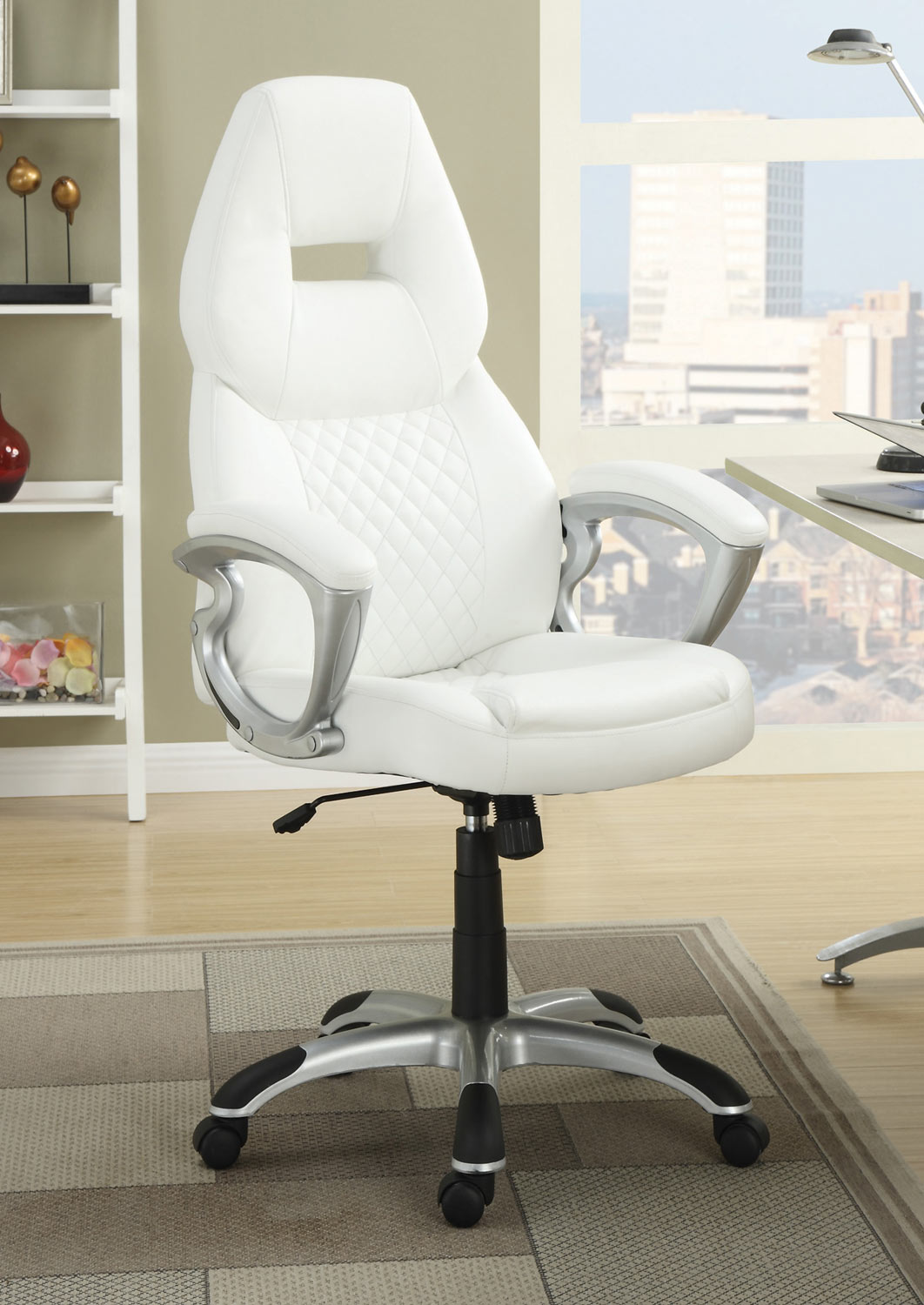Coaster 800150 Office Chair - White