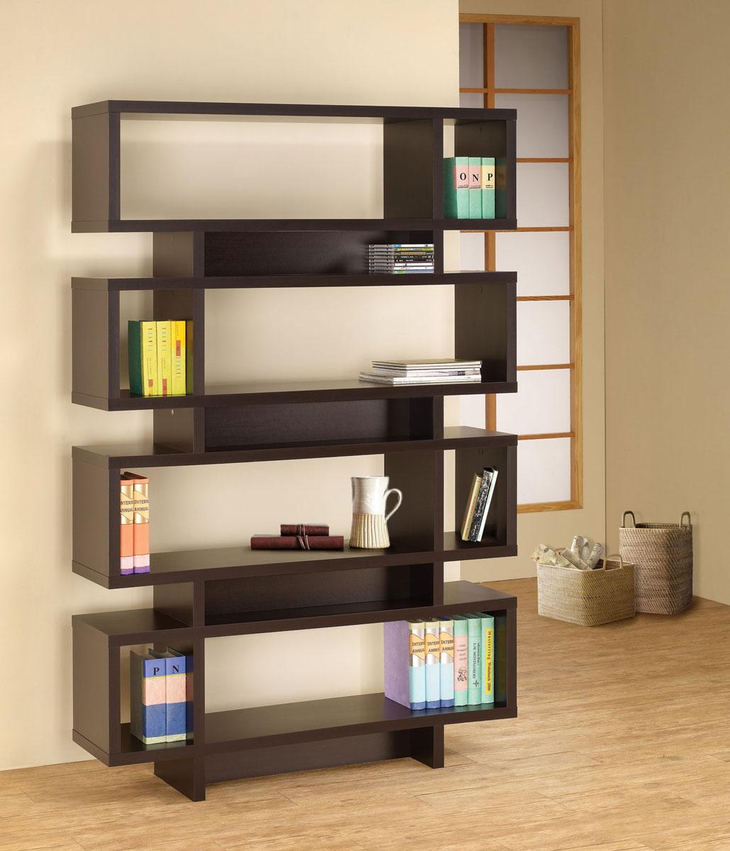 Coaster 800307 Bookcase - Cappuccino