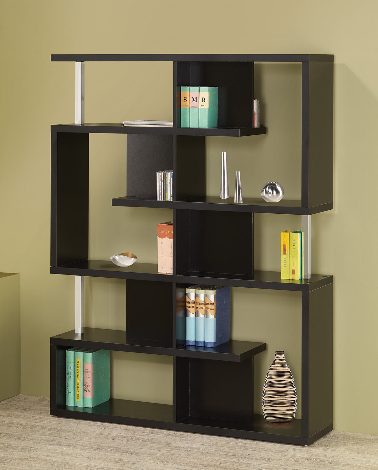 Coaster 800309 Bookcase - Black