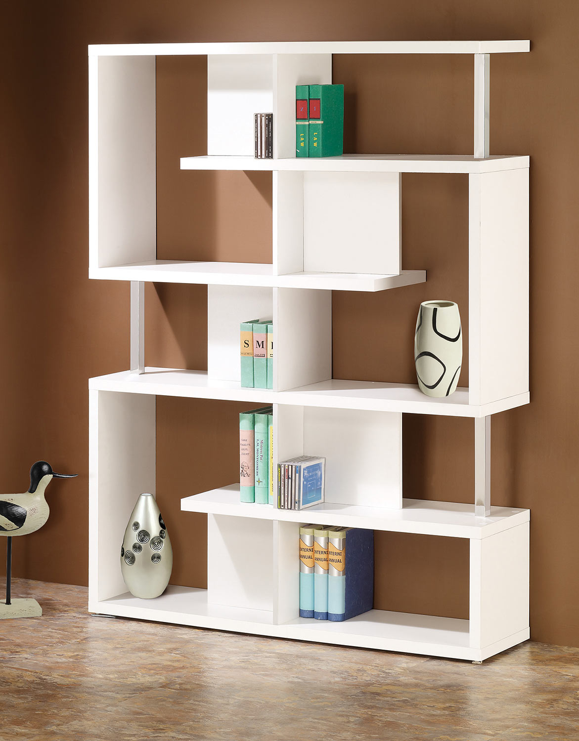 Coaster 800310 Bookcase - White