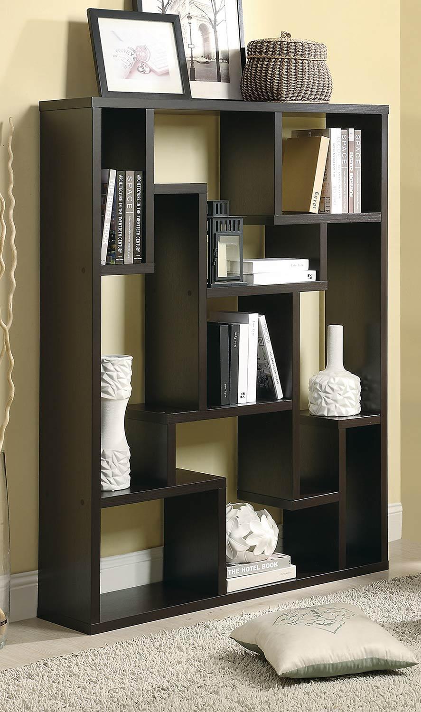 Coaster 800316 Bookcase - Cappuccino