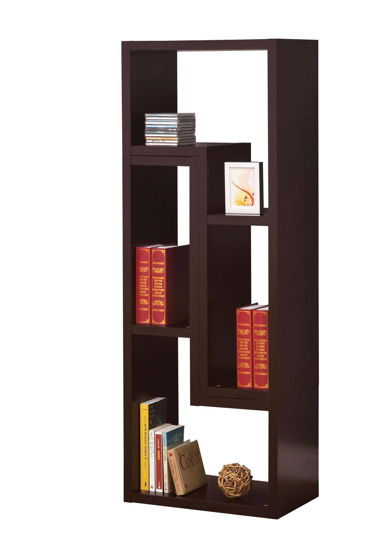 Coaster 800329 Bookshelf - Cappuccino