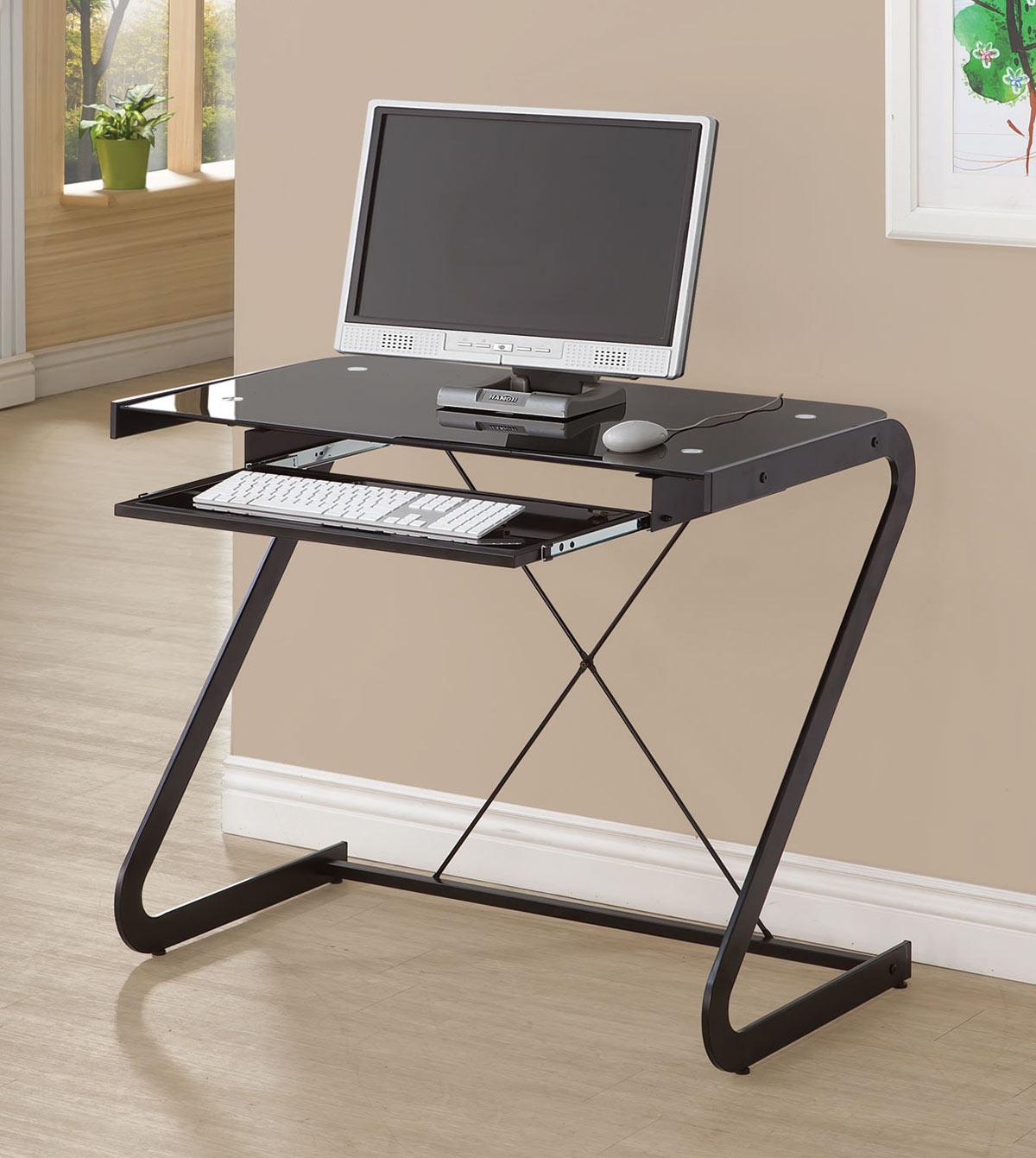 Coaster Computer Desk Coaster Computer Desk In White