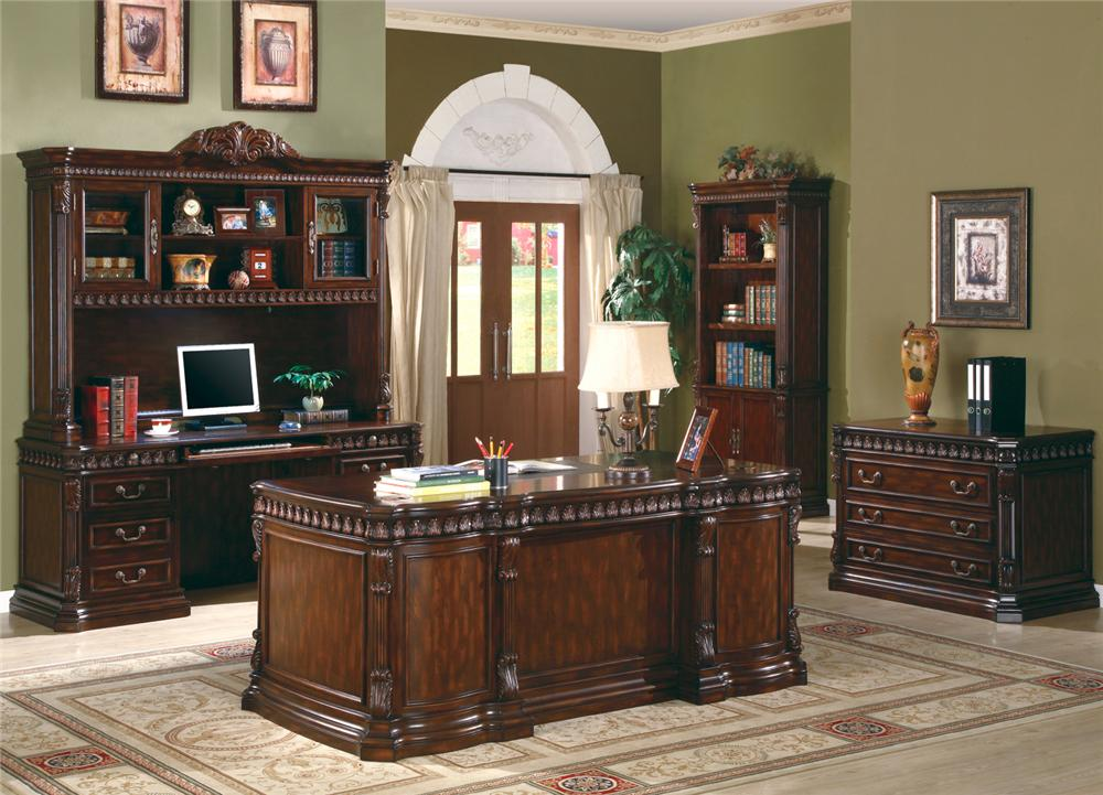 Coaster 800800 OFF SET Union Hill Home Office Set