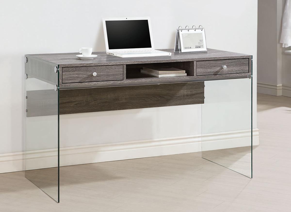 Coaster 800818 Computer Desk - Weathered Grey