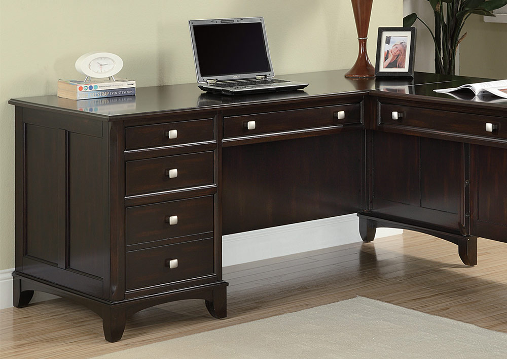 Coaster Garson L Shaped Desk 801011l At Homelement Com