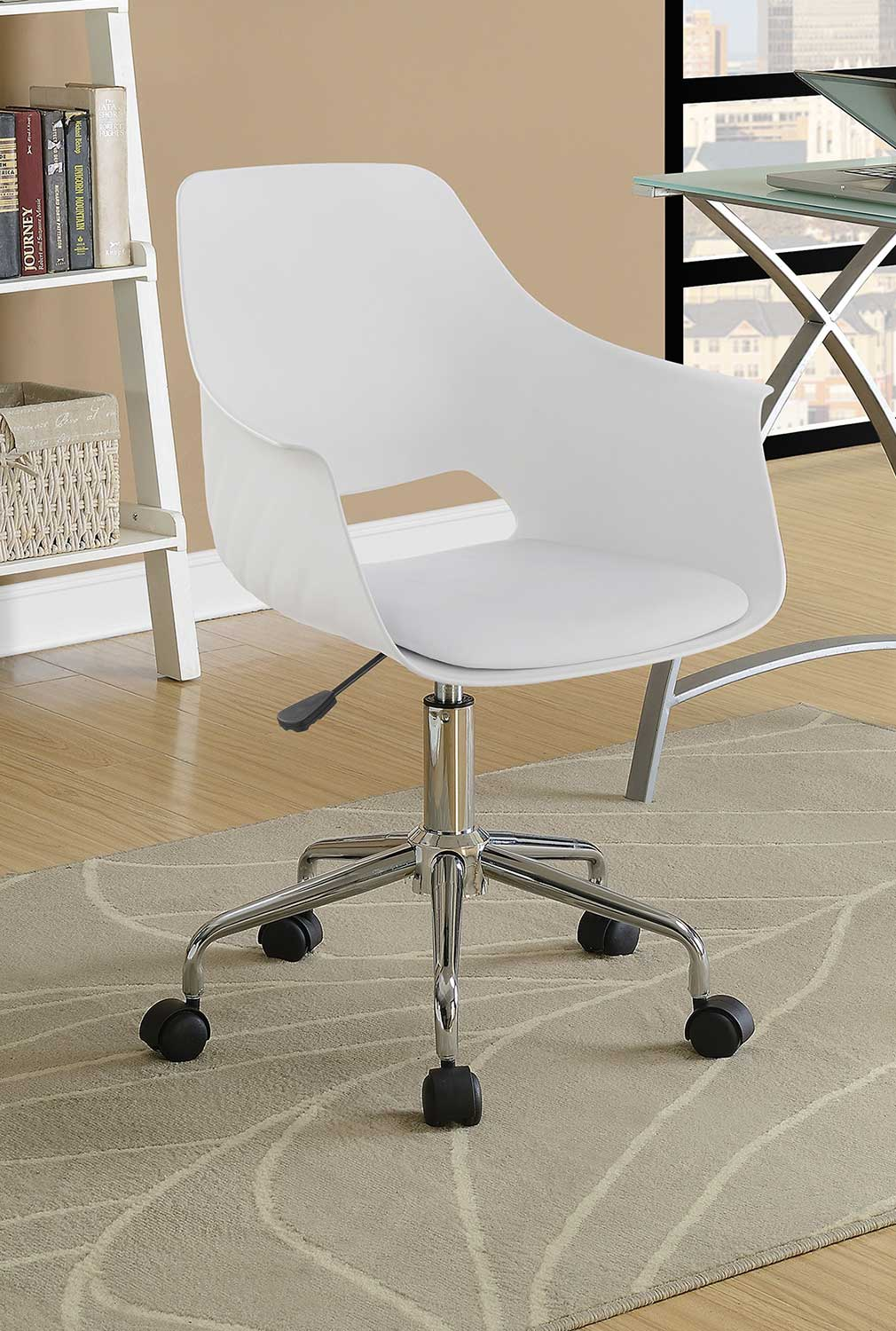 Coaster 801128 Office Chair - White