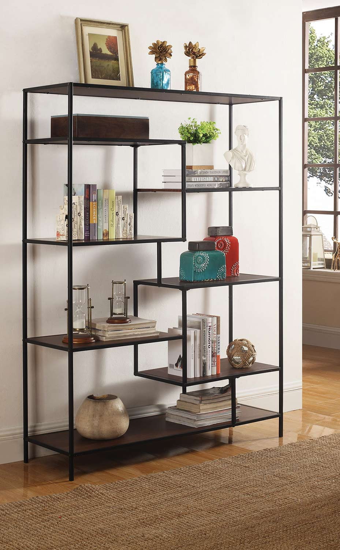 Coaster 801135 Bookcase - Walnut