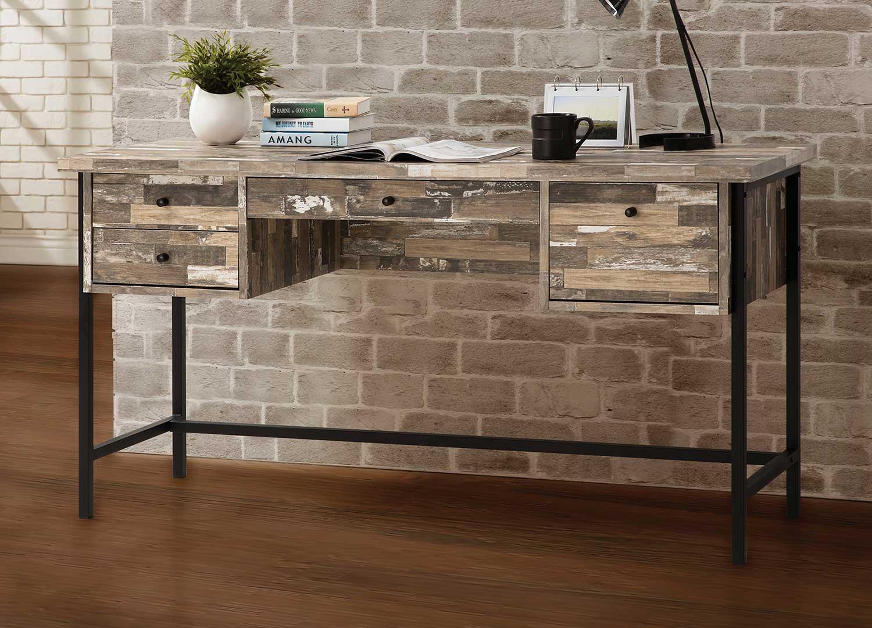 Coaster 801235 Writing Desk - Warm Grey