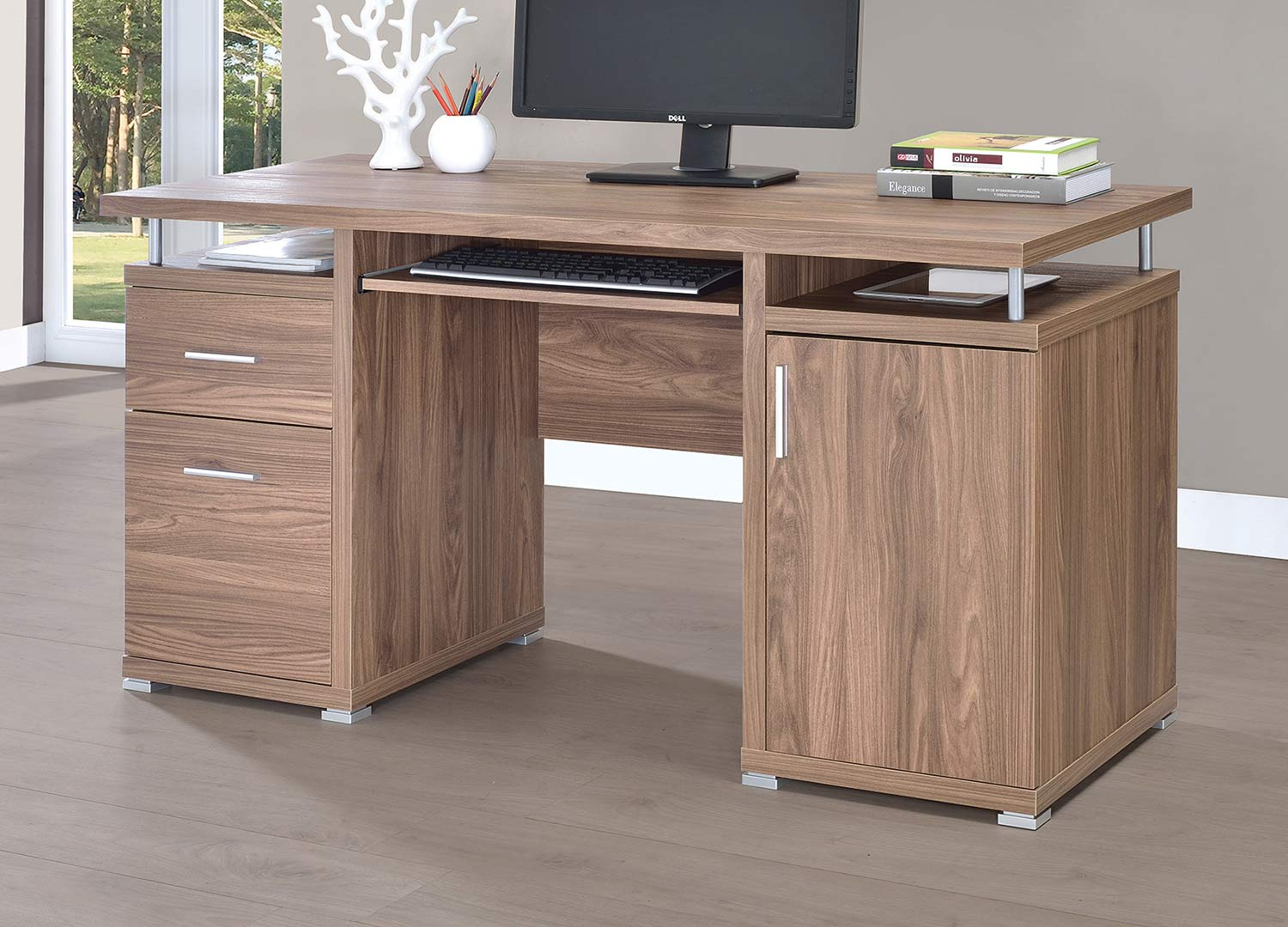 Coaster 801280 Office Desk - Elm