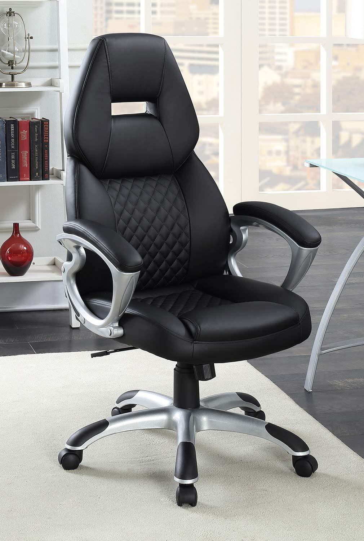 Coaster 801296 Office Chair - Black