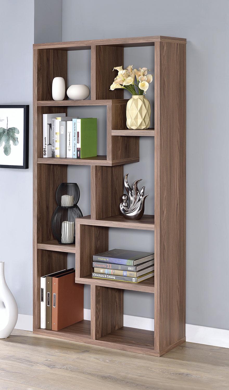 Coaster 801302 Bookcase - Elm