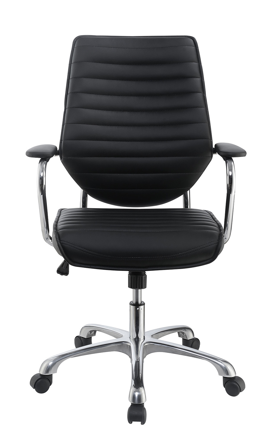 Coaster 801327 Office Chair - Black/Aluminum