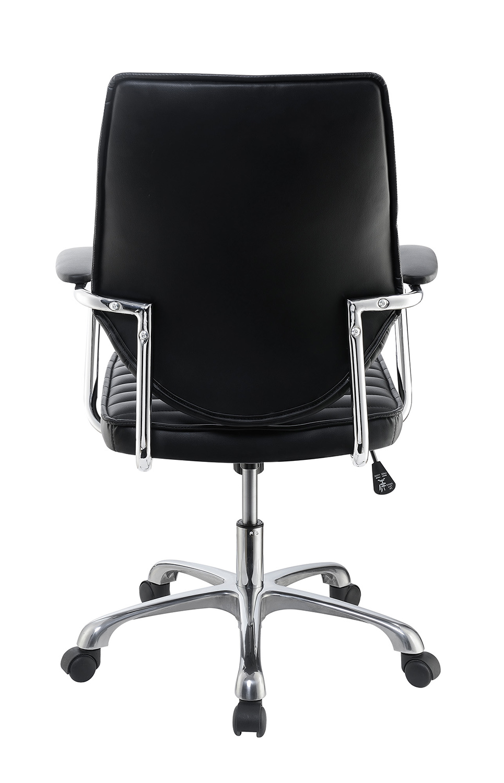 Coaster 801327 Office Chair - Black/Aluminum
