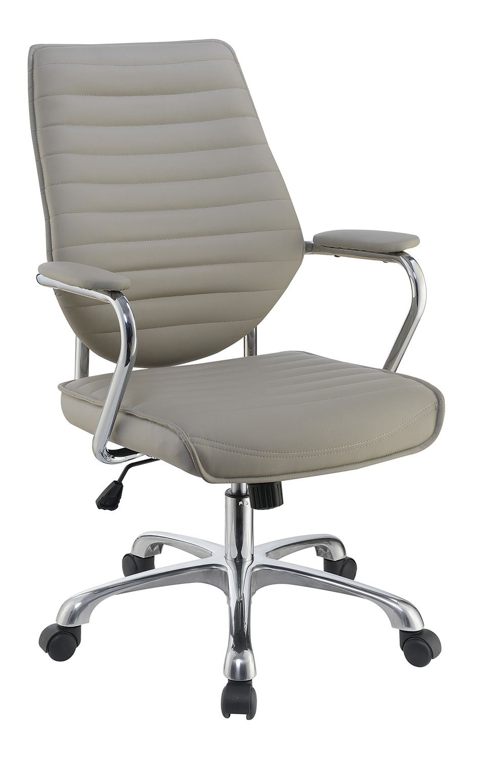 Coaster 801328 Office Chair - Taupe/Aluminum