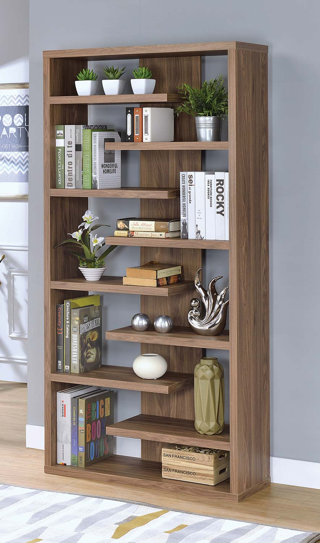 Coaster 801349 Bookcase - Elm