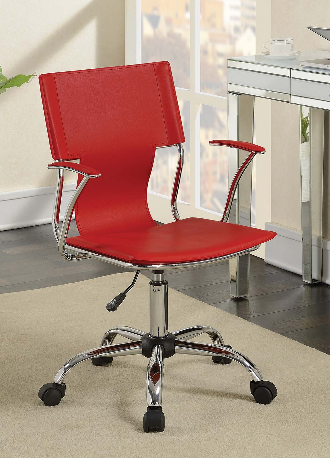 Coaster 801364 Office Chair - Red